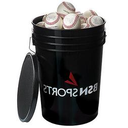 BSN SPORTS™ Bucket with 36 Mark 1™ Official League Baseb