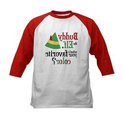 CafePress - Buddy Elf Favorite Color Kids Baseball Jersey -