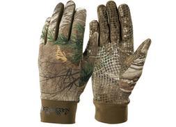 Cabelas Gloves Unlined Gripper-Dot II Camoskinz Camo Realtre