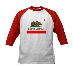 CafePress - California Republic Kids Baseball Jersey - Kids