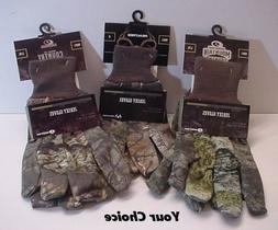 Camo Jersey Gloves Mossy Oak / Realtree Hunt-Fish-Sport