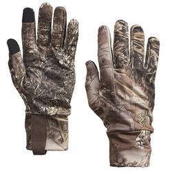 Camo Lightweight Gloves Mens Realtree® MAX-1 XT Various Siz