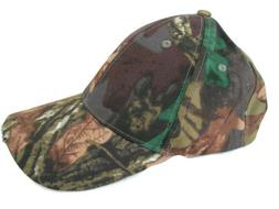 Camouflage Color baseball cap with 5 LED Lights for  reading
