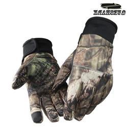 Camouflage Fishing <font><b>Gloves</b></font> Hunting <font>