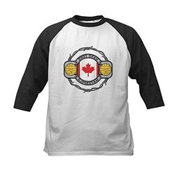 CafePress - Canada Water Polo Kids Baseball Jersey - Kids Co