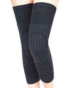 Ancia Unisex Cashmere Wool Knee Brace Pads Winter Warm Therm