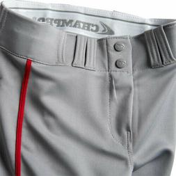 Champro Youth Triple Crown Open Bottom Piped Baseball Pants