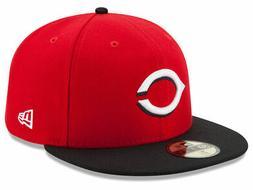New Era Cincinnati Reds ROAD 59Fifty Fitted Hat  MLB Cap