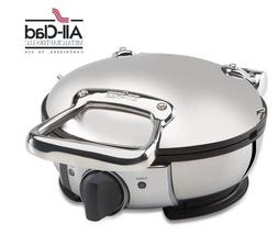All Clad Stainless Steel Round Electric Waffle Maker