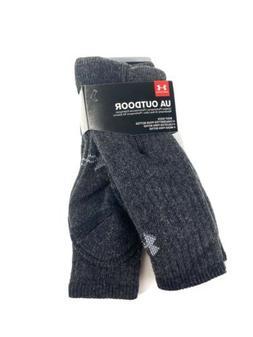 Under Armour Men's ColdGear Boot Socks , Grey, Large