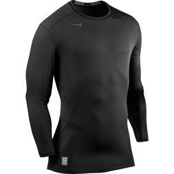 Nike Men's Pro Combat Core Fitted 2.0 Long Sleeve Shirt, Bla