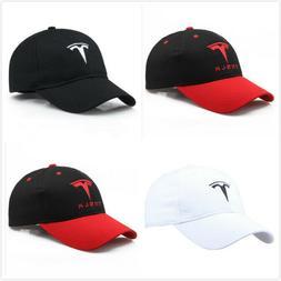 Cool Car TESLA Motor Hat Trucker Mesh Baseball Cap Trendy Mo