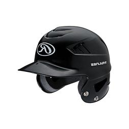 Rawlings Coolflo NOCSAE Molded Batting Helmet, Navy, One Siz