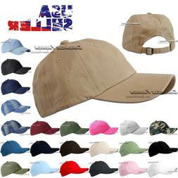 baseball cap washed cotton hat polo style
