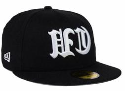 CUBA NEW ERA 59FIFTY FITTED BLACK BASEBALL CAP HAT AUTHENTIC