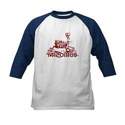 CafePress - CURIOSITY MARS ROVER Kids Baseball Jersey - Kids