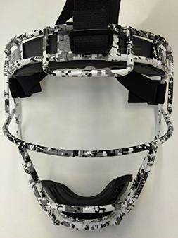 Adult Custom Schutt Digital Camo Infielder Face Guard