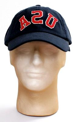 Nautica Dark Blue USA Adjustable Baseball Cap Hat Adult One
