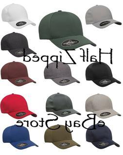 Flexfit Delta Seamless Cap 180 Baseball Hat S/M L/XL Antibac