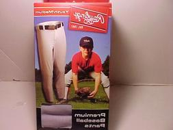 Rawlings Deluxe Baseball Pants Youth / Medium / Grey