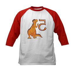 CafePress - Kids Dino 5Th Birthday Gifts - Kids Cotton Baseb