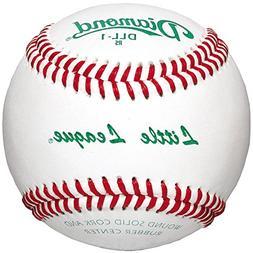 Diamond Dll-1 Little League Leather Baseballs 1 Dozen