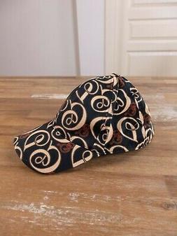 DOLCE & GABBANA black cotton logo motif baseball cap - Size