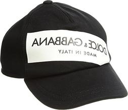 Dolce & Gabbana Kids Boy's Baseball Hat  Black SM