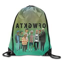 Drawstring Backpack Bag Ofwgkta Odd Future