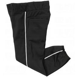 Champro Women's Sports Performance Pants with Piping, Black/
