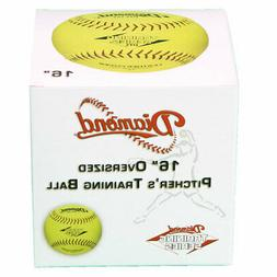 Diamond DTS-16Y Oversized Pitching Fastpitch Softball - per