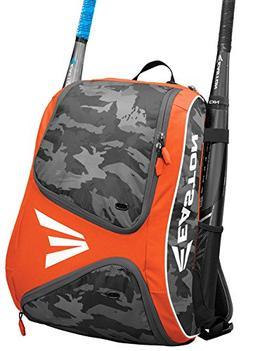 Easton E110BP Orange / Camo Bat Pack Backpack Equipment Bag