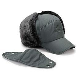 Earflap Adjustable Winter Aviator Hats Men Women Faux Fur Hu