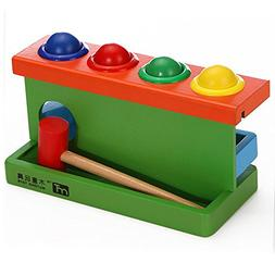 COFFLED Eco-Friendly and Non-toxic Wooden Educational Toy Wi