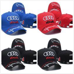 Embroidered Audi Logo Baseball Cap Sport Hat Racing Cap Mode