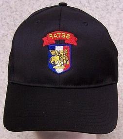 embroidered baseball cap military army setaf vincenza
