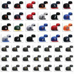 Embroidery Team Logo Flat Brim Baseball Cap Snapback Adjusta