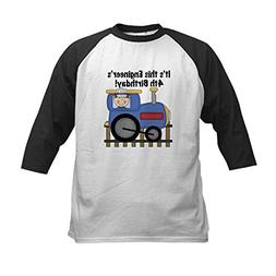 CafePress - Engineer 4th Birthday Kids Baseball Jersey - Kid