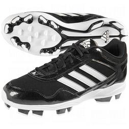 adidas Mens Excelsior Pro TPU Low Cleats 12 US Black/Silver