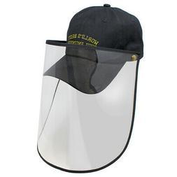 Face Shield Baseball Cap Worlds Best Civil Engineer Embroide