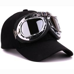Fancy Cotton Ski Goggles Baseball Cap With Polite Glasses Sp