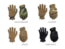 Mechanix Wear Fast Fit Gloves Covert Black, Coyote, Woodland