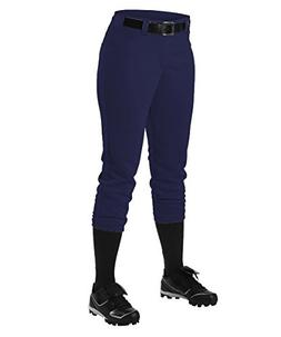 Alleson Women's Fastpitch Pants - Navy - X-Large