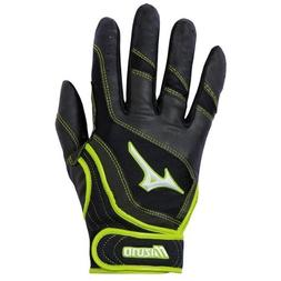 Mizuno Finch Premier G3 Batting Glove, X-Large, Blk/Op.Yel.