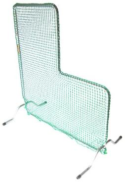 JUGS Fixed-Frame L-Shaped Protective Screen - Baseball Pitch