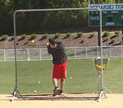 Jugs Fixed-Frame Square Fungo Replacement Net