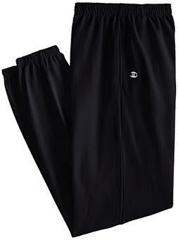 Champion Men's Big-Tall Fleece Pant, Black, 3X