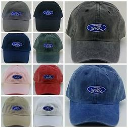 FORD Daddy Hat / Embroidered / 10 Color choices  / 100% Cott