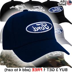 Ford Logo Cap Truck Oval Hat F150 Raptor Shelby GT500 Cobra