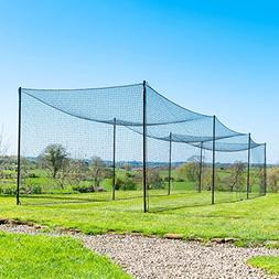 Ultimate Baseball Batting Cage  - #42 Heavy Duty Net with St